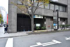 各線・人形町駅の様子。(2017-12-08,共用部,ENVIRONMENT,1F)