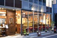 ビルの1Fでは、おしゃれな飲食店が営業中です。(2018-12-19,共用部,ENVIRONMENT,1F)