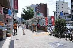 都営浅草線・東日本橋駅の様子。(2013-08-06,共用部,ENVIRONMENT,1F)