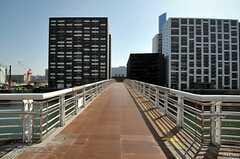 駅からシェアハウスへ向かう道の様子。(2012-02-24,共用部,ENVIRONMENT,1F)