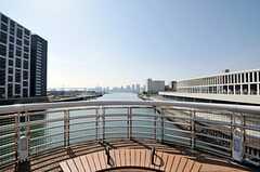 橋の途中には絶景ポイントがあります。(2012-02-24,共用部,ENVIRONMENT,1F)