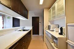 キッチンの様子2。(2017-05-24,共用部,KITCHEN,14F)