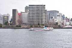水上バスも走っています。(2016-12-22,共用部,ENVIRONMENT,1F)