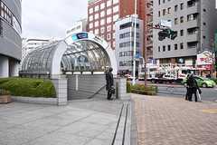各線・茅場町駅の様子。(2016-12-22,共用部,ENVIRONMENT,1F)