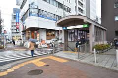 各線・八丁堀駅の様子。(2017-03-02,共用部,ENVIRONMENT,1F)