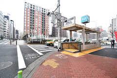 東京メトロ有楽町線・新富町駅の様子。(2017-03-02,共用部,ENVIRONMENT,1F)