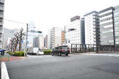 東京メトロ有楽町線・新富町駅前の様子。(2017-03-02,共用部,ENVIRONMENT,1F)