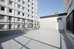 屋上の様子。(2013-10-31,共用部,OTHER,5F)