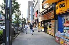 東京メトロ半蔵門線・水天宮駅前の様子。(2011-08-05,共用部,ENVIRONMENT,1F)