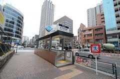 東京メトロ半蔵門線・水天宮前駅の様子。(2016-03-28,共用部,ENVIRONMENT,1F)