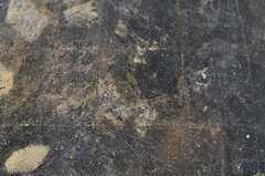 床の質感は結構ハード。(2011-12-22,共用部,LIVINGROOM,5F)