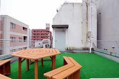屋上の様子2。(2011-12-22,共用部,OTHER,6F)