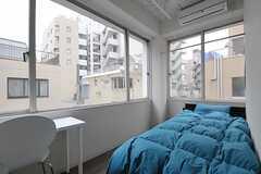 専有部の様子。各部屋には、カーテンが設置されるとのこと。(403号室)(2011-12-22,専有部,ROOM,4F)