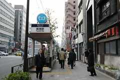 東京メトロ日比谷線・築地駅の様子。(2011-12-22,共用部,ENVIRONMENT,1F)