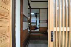 正面玄関から見た内部の様子。(2014-03-03,周辺環境,ENTRANCE,1F)