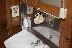 洗面台の様子。(2014-03-03,共用部,OTHER,1F)