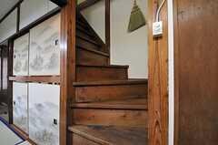 階段の様子。(2014-03-03,共用部,OTHER,1F)