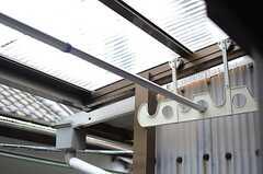 物干しの器具が設置されています。(2014-03-03,専有部,ROOM,2F)