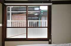 窓の様子。(201b号室)(2014-03-03,専有部,ROOM,2F)