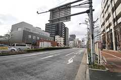 各線・月島駅前の様子。(2014-03-03,共用部,ENVIRONMENT,1F)