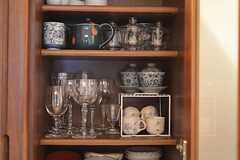 毎日使う食器は、イイものを使ってほしいというオーナーの想いもあって種類も豊富。(2012-02-10,共用部,OTHER,1F)