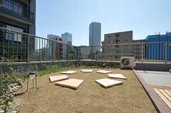 こちら側は高い建物がなく、空が広くて気持ちがよいです。(2012-02-10,共用部,OTHER,4F)