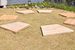杉板は自由に設置場所を変えられます。(2012-02-10,共用部,OTHER,4F)
