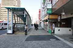 都営大江戸線・勝ちどき駅の様子。(2012-02-10,共用部,ENVIRONMENT,1F)