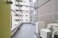 屋上の様子。物干し竿が設置される予定です。(2014-03-27,共用部,OTHER,6F)