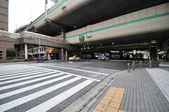 東京メトロ半蔵門線・水天宮前駅前の様子。(2014-03-27,共用部,ENVIRONMENT,1F)