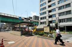 各線・月島駅の様子。(2012-08-07,共用部,ENVIRONMENT,1F)
