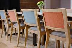 椅子の様子。(2015-06-28,共用部,LIVINGROOM,1F)