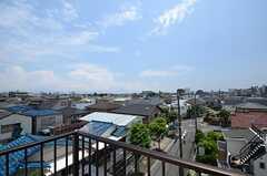 屋上からの眺め。(2015-06-28,共用部,OTHER,4F)