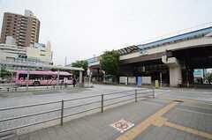 東京メトロ東西線・葛西駅の様子。(2015-06-28,共用部,ENVIRONMENT,1F)