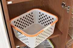 収納棚には専有部ごとにボックスが用意されています。(2017-04-24,共用部,OTHER,3F)