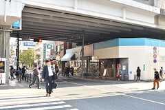 東京メトロ東西線・葛西駅周辺の様子2。(2017-04-24,共用部,ENVIRONMENT,1F)