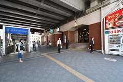 東京メトロ東西線・葛西駅の様子。(2017-04-24,共用部,ENVIRONMENT,1F)