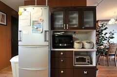 キッチン家電の様子。(2014-05-22,共用部,KITCHEN,2F)