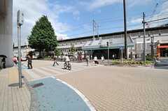 JR中央/総武線・小岩駅の様子。(2014-05-22,共用部,ENVIRONMENT,1F)