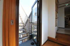 屋上への入り口。(2013-03-12,共用部,OTHER,3F)