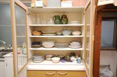 食器棚の様子。(2008-10-29,共用部,OTHER,2F)