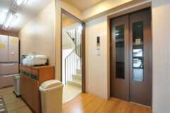 エレベーターから先は5-6Fの入居者以外は立ち入ることが出来ません。※女性専用フロアです。(2012-02-27,共用部,OTHER,5F)