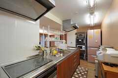 キッチンの様子2。※女性専用フロアです。(2012-02-27,共用部,KITCHEN,5F)
