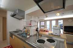 キッチンの様子。(2012-06-25,共用部,KITCHEN,7F)