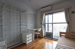 収納の様子。(707号室)(2012-06-25,専有部,ROOM,7F)