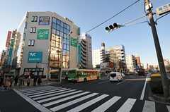 東京メトロ東西線・葛西駅周辺の様子。(2012-01-26,共用部,ENVIRONMENT,1F)