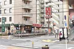 都営新宿線・瑞江駅周辺の様子。(2017-03-07,共用部,ENVIRONMENT,1F)