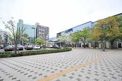 東京メトロ東西線・西葛西駅の様子。(2014-04-18,共用部,ENVIRONMENT,1F)