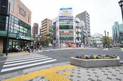 東京メトロ東西線・西葛西駅前の様子。(2014-04-18,共用部,ENVIRONMENT,1F)