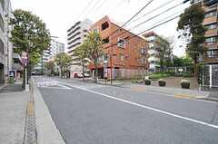 東京メトロ東西線・西葛西駅からシェアハウスに向かう道の様子。(2014-04-18,共用部,ENVIRONMENT,1F)